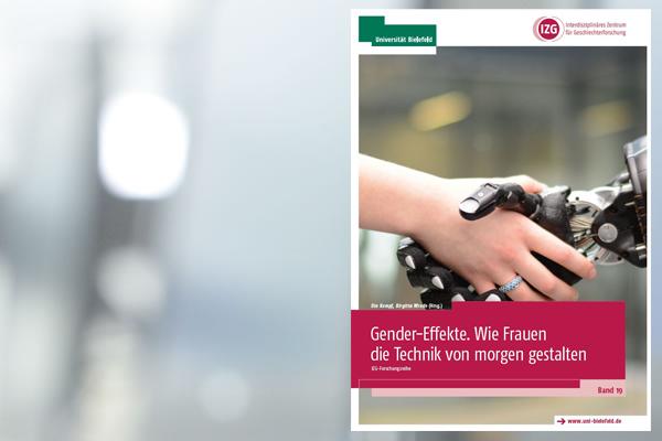 """Titelblatt der Publikation """"Gender-Effekte. Wie Frauen die Technik von morgen gestalten"""""""