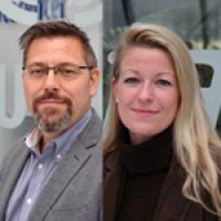 Portraits von Karl-Heinz Reitz und Katja Könnecke